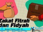 Besaran Zakat Fitrah dan Fidyah 1441 H, Kutai Timur