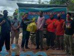 Komunitas Shodaqoh dan Perguruan Silat PSHT Berbagi Rezeki Dampak Wabah Covid 19 kutim post