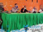 Rapat koordinasi percepatan penanganan Wabah Covid-19, Desa Suka Damai Teluk Pandan kutim post