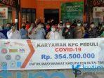 Karyawan PT KPC Sumbang Rp 354,5 Untuk Perangi Covid-19 kutim post