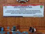 Rapat Paripurna Terkait LKPJ Bupati Kutim Tahun 2019