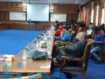 Tolak Omnibus Law, Ratusan Buruh Berunjuk Rasa Di Gedung DPRD Kutim 27 Agustus
