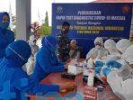Sambut HUT TNI ke 75, Lanal Sangatta Adakan Rapid Test Untuk Anggota dan Keluarga