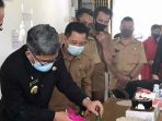 UPTD BLKI Mandiri Adakan Pelatihan Membuat Masker diikuti 16 Peserta