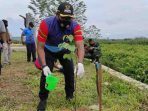 AJKT Bersama Plt. Bupati Gelar Penanaman Pohon di Polder Ilham Maulana