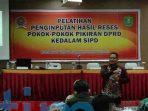 Total 58 peserta ikut pelatihan SIPD termasuk anggota DPRD kutim dan juga staf