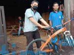 Sepeda Kayu Inovasi Terbaru Karya Warga Sangatta
