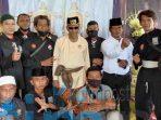 PSHT Kawal Sultan Meresmikan Lamin Adat Belahu Badak Desa Swarga Bara