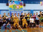 Seleksi Calon Atlet Bola Voli Kasmidi Saya Harap Setiap Kecamatan Ada Perwakilan
